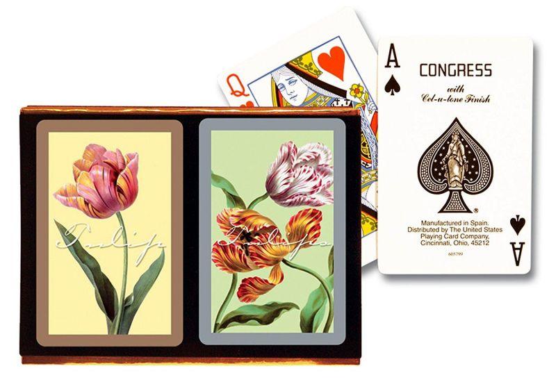 Tulips, Jumbo Index 2-Deck Set