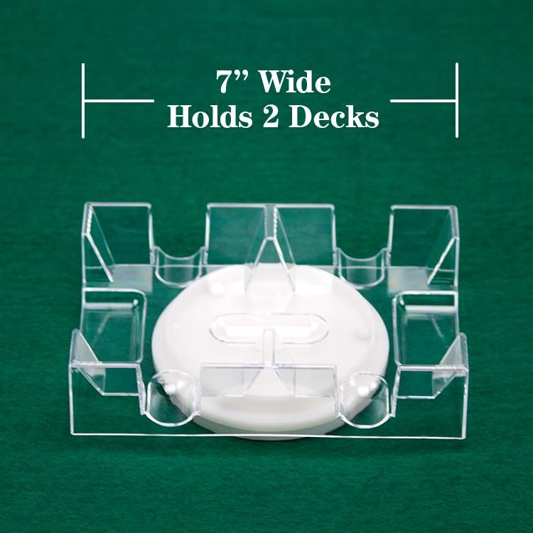 2 Deck Rotating Card Tray