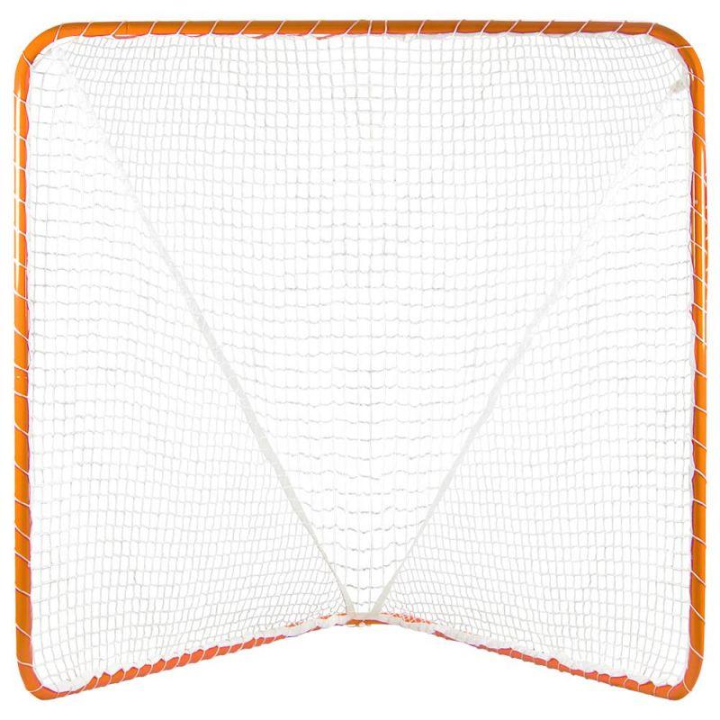 6' X 6' Official Size Orange Lacrosse Goal