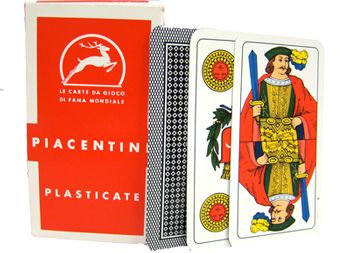 Deck Of Piacentine Italian Regional Playing Cards