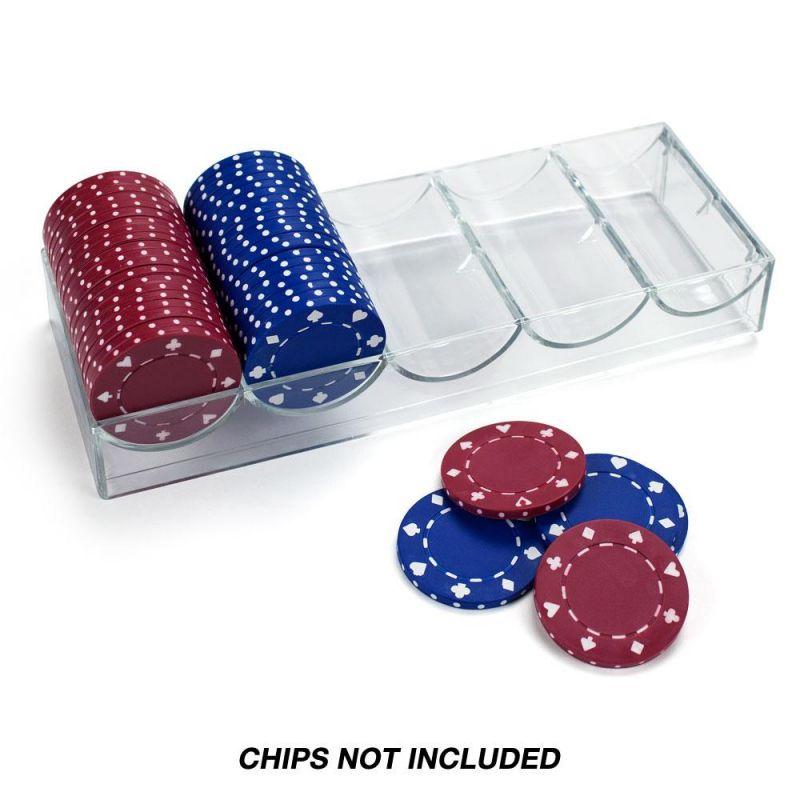 Acrylic Chip Tray - No Lid