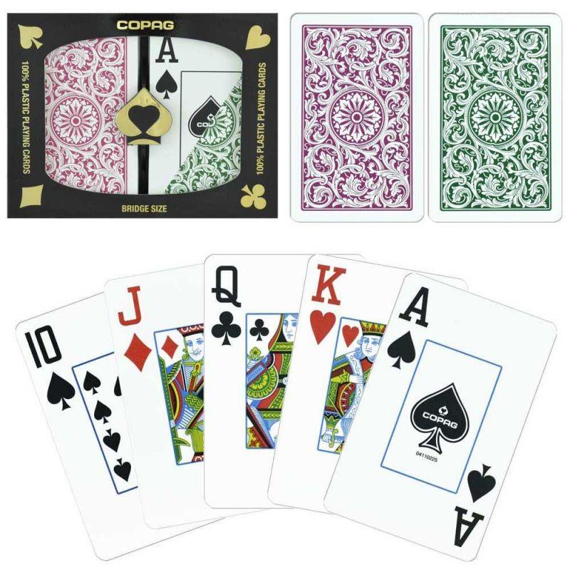 Copag 1546 Bridge Poker Cards Jumbo Index / Regular