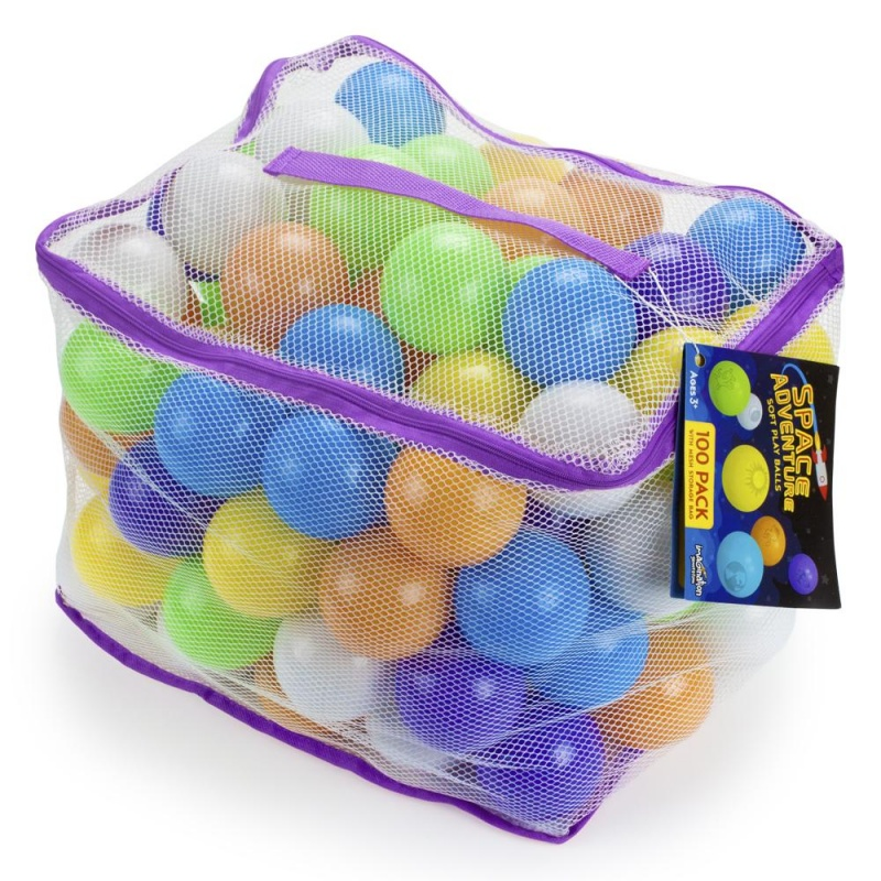Space Adventure Soft Play Balls, 100-Pack