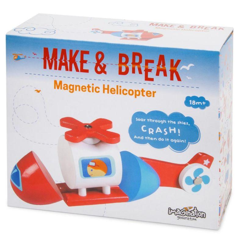 Make & Break Magnetic Helicopter