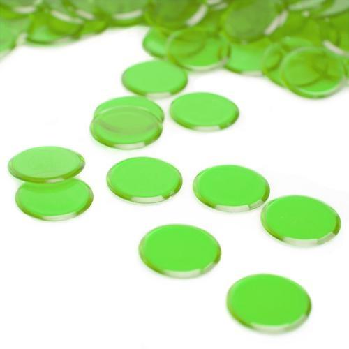 100 Pack Green Bingo Chips