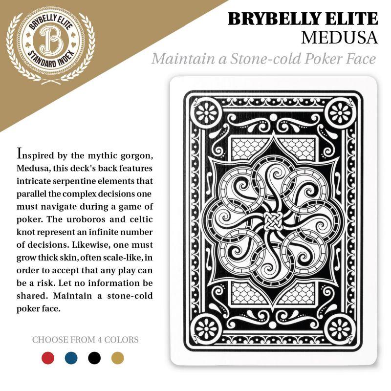Black Brybelly Elite Medusa Deck - Wide Size / Reg. Index