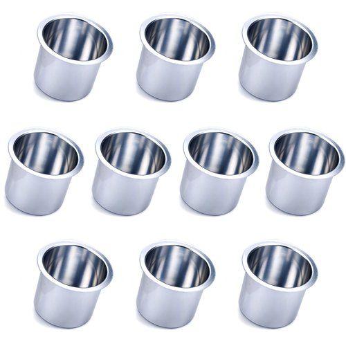Vivid Silver Aluminum Cup Holder