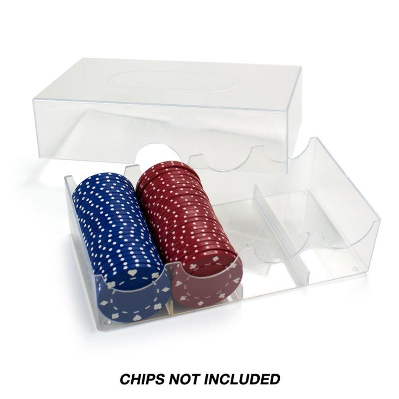 Poker Chip Storage Box - Holds 100 Chips