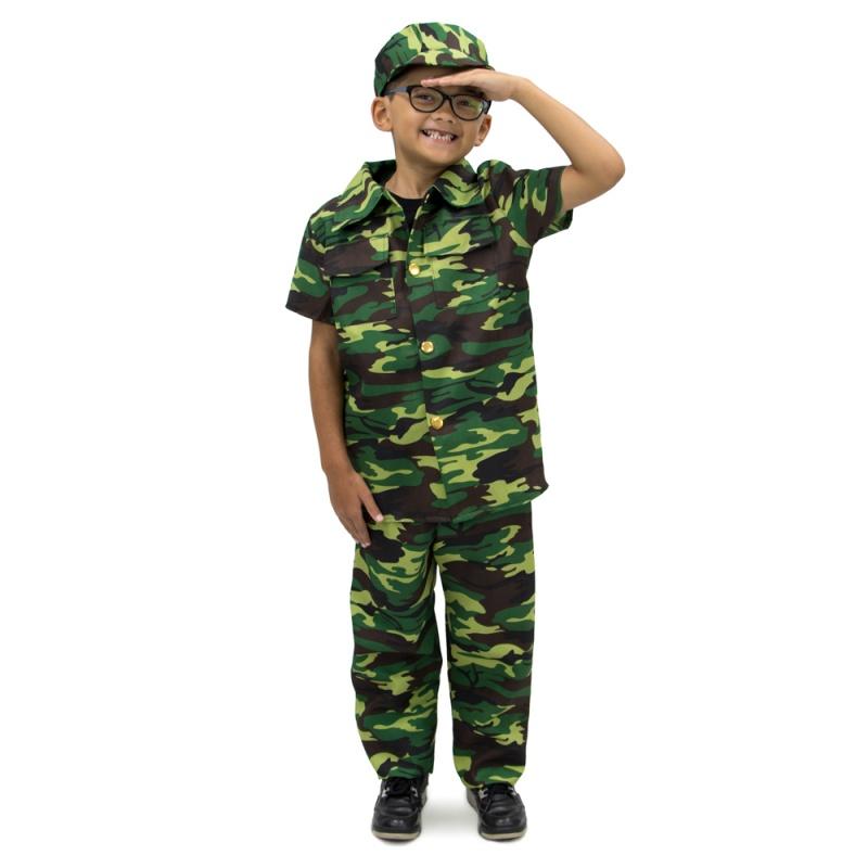 Children's Army Soldier Costume