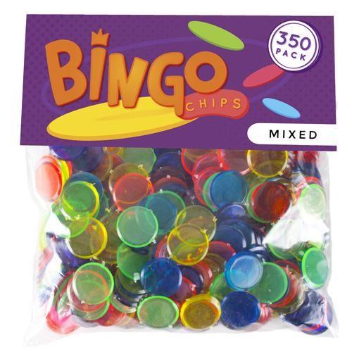 350 Pack Mixed Bingo Chips