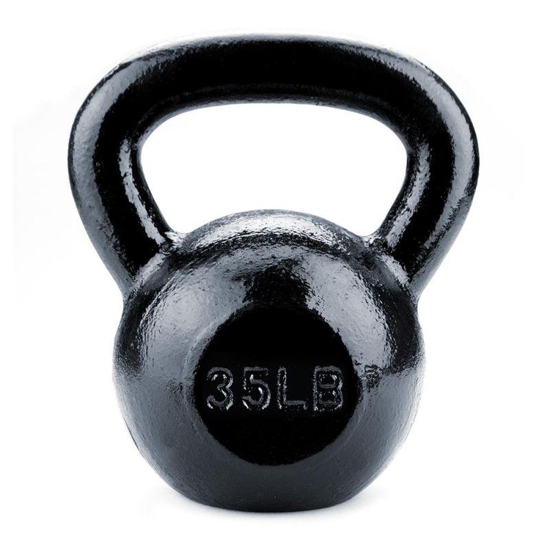 35Lb Cast Iron Kettlebell