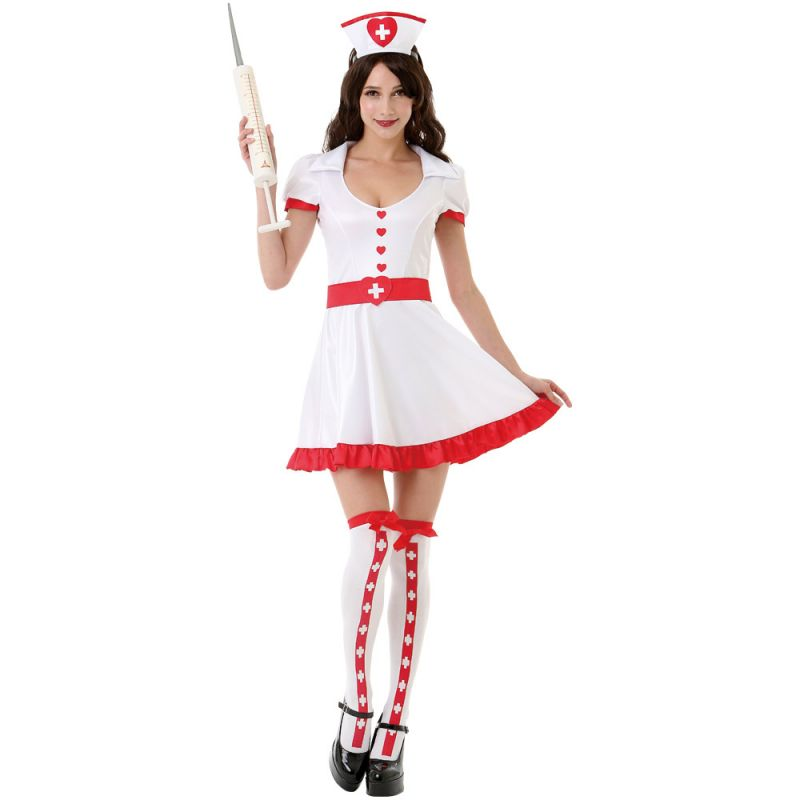 Nurse With Needle Adult Costume