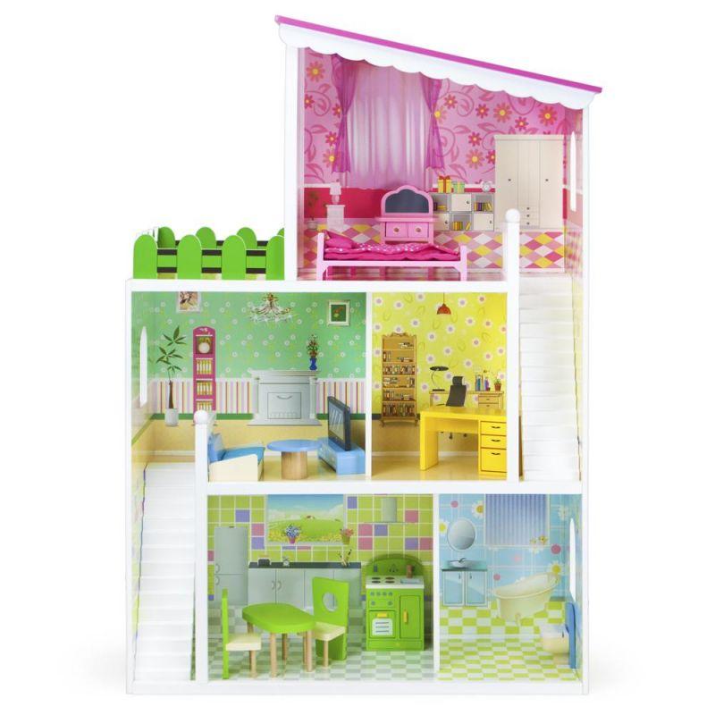 Wooden Wonders Living Large! Modern Doll House