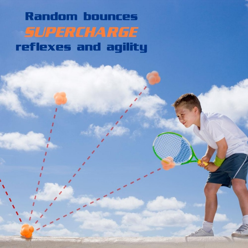 Hi-Bounce Reaction Ball, White
