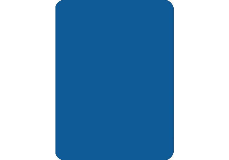 Cut Card - Poker - Blue