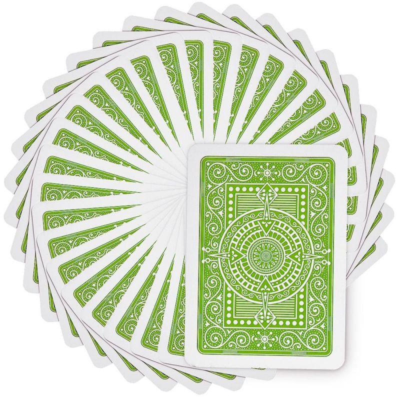 Modiano Texas Poker Jumbo - Light Green