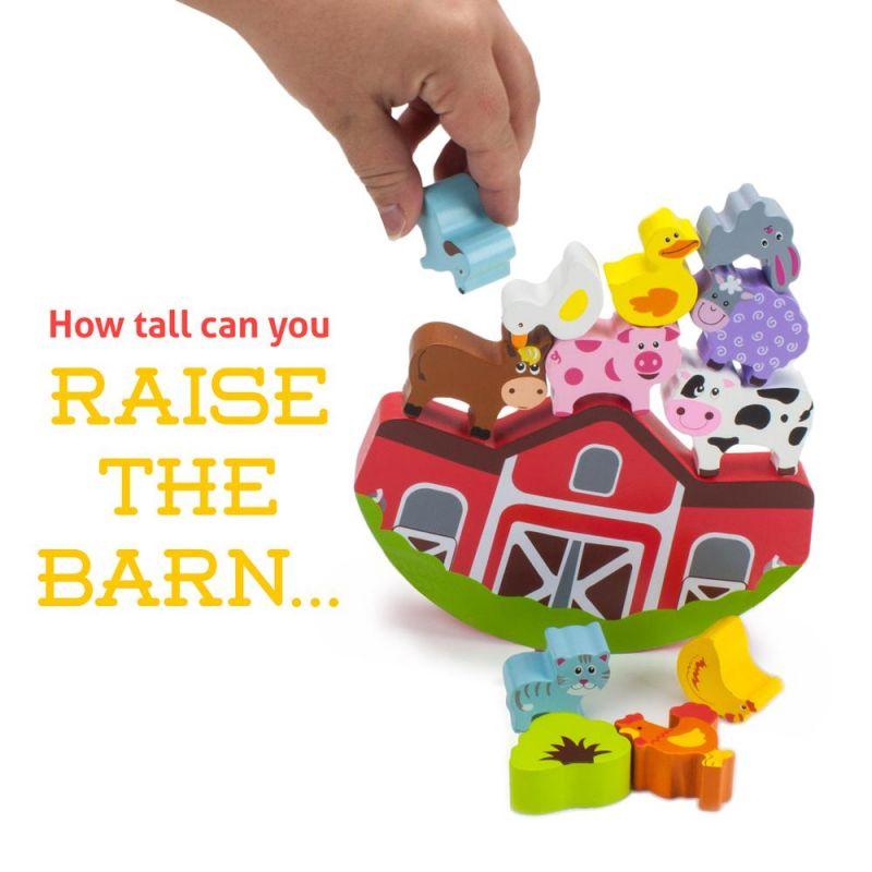 Balancing Barnyard Playset