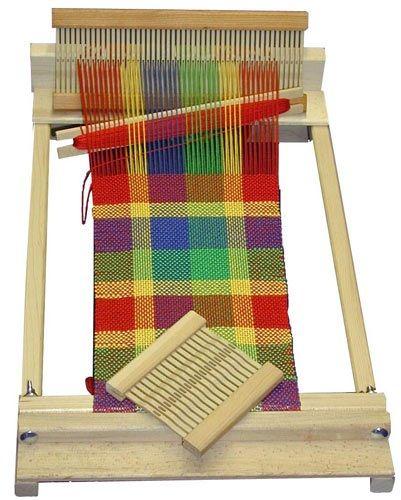 """Beka RH Series 10"""" Beginner's Weaving Loom: RH-10"""