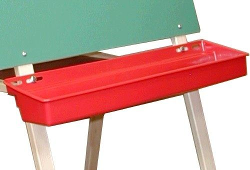Beka Red Plastic Tray