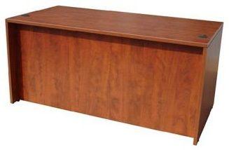 Boss Desk Shell, 66″w X 30″d, Mahogany