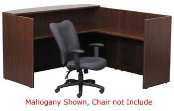 Boss Reception Desk, Cherry