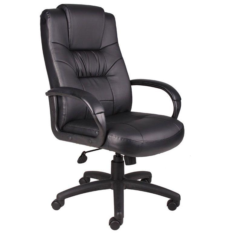 Boss Executive High Back Leatherplus Chair