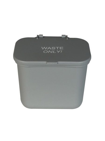 Busch Systems Hanging Waste Basket with Lid: 0.75G, Different Colors