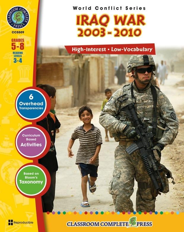 Classroom Complete Regular Education Social Studies Book: Iraq Crisis / Iraq War (2003 - Present), Grades - 5, 6, 7, 8