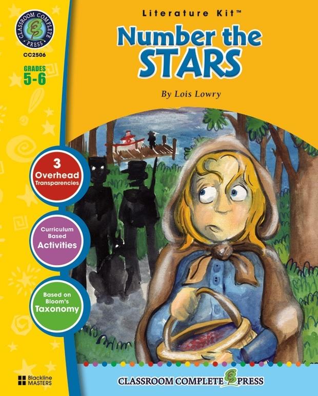 Classroom Complete Regular Education Literature Kit: Number the Stars,Grades - 5, 6
