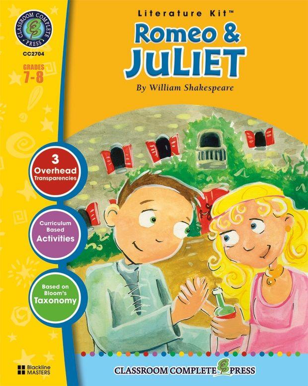Classroom Complete Regular Education Literature Kit: Romeo & Juliet, Grades - 7, 8