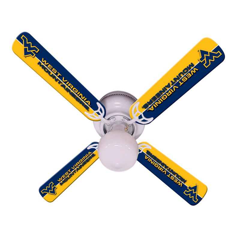 "New Ncaa West Virginia Mountaineers 42"" Ceiling Fan"