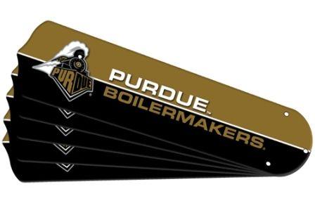 "New Ncaa Purdue Boilermakers 42"" Ceiling Fan Blade Set"