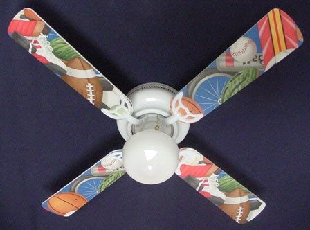 """New Sport Sports Ceiling Fan 42"""""""
