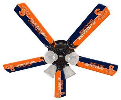"New Ncaa Syracuse Orange 52"" Ceiling Fan"