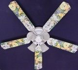 """New Zootles Baby Animals Jungle Ceiling Fan 52"""""""