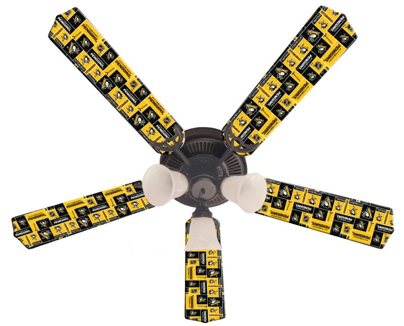 Ceiling Fan Designers NHL Pittsburgh Penguins Fan/Blades