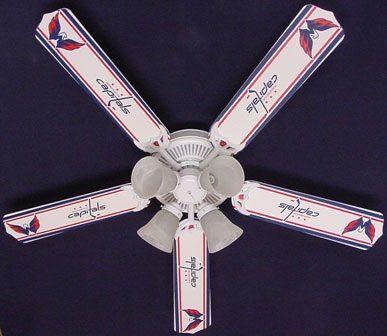 Ceiling Fan Designers NHL Washington Capitals Fan/Blades