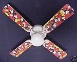 """Disney Mickey Mouse 42"""" Ceiling Fan"""