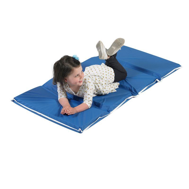 2″ Tough Duty Folding Rest Mat – Blue