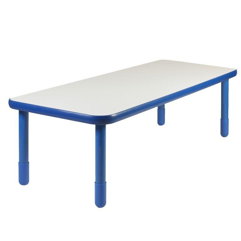 Baseline® 72″ X 30″ Rectangular Table – Royal Blue With 22″ Legs