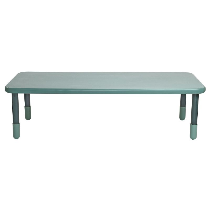 Baseline® 72″ X 30″ Rectangular Table – Teal Green With 20″ Legs
