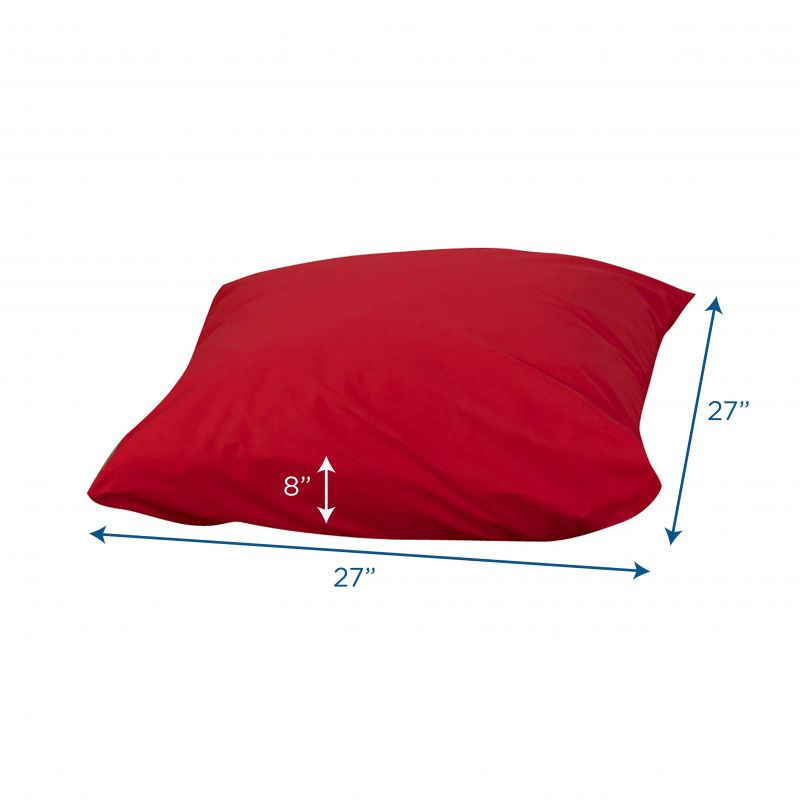 Cuddle-Ups® 27″ Cozy Floor Pillow – Red