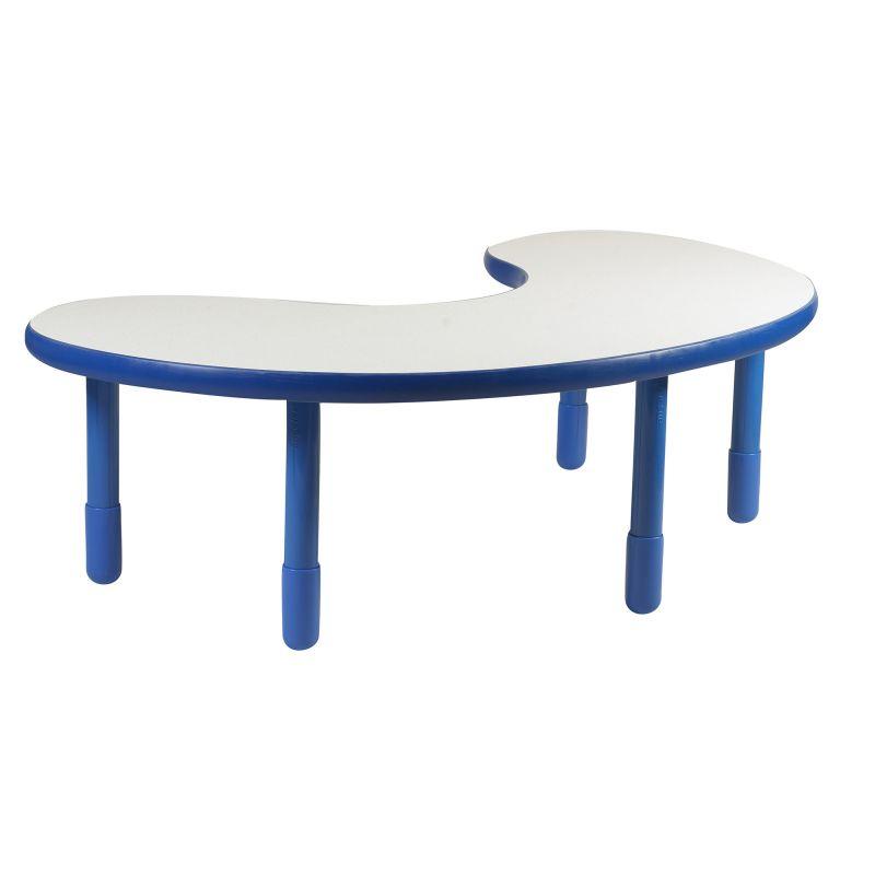 Baseline® Teacher/Kidney Table – Royal Blue With 20″ Legs