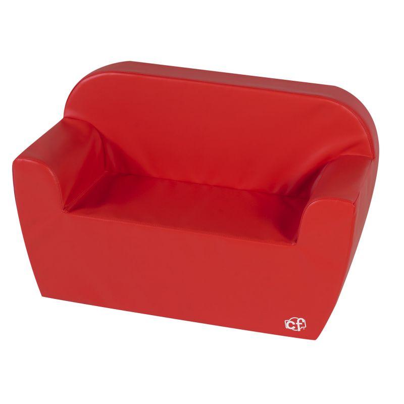 Club Sofa – Red