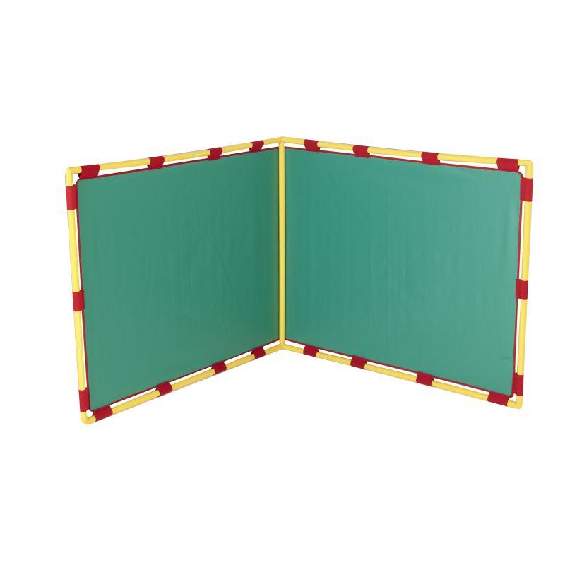 Big Screen Right Angle Panel – Green