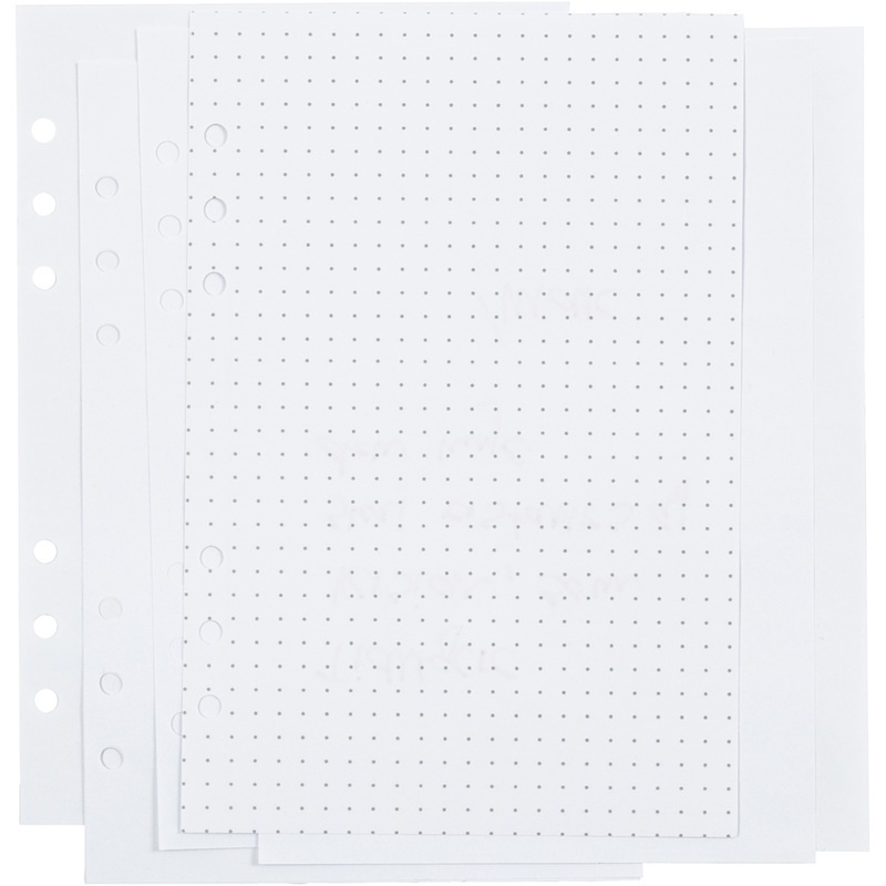 Creativ Company Planner Pages, White, Dots, 142x210 Mm, 36, 120 G, 1 Pc, 1 Pack