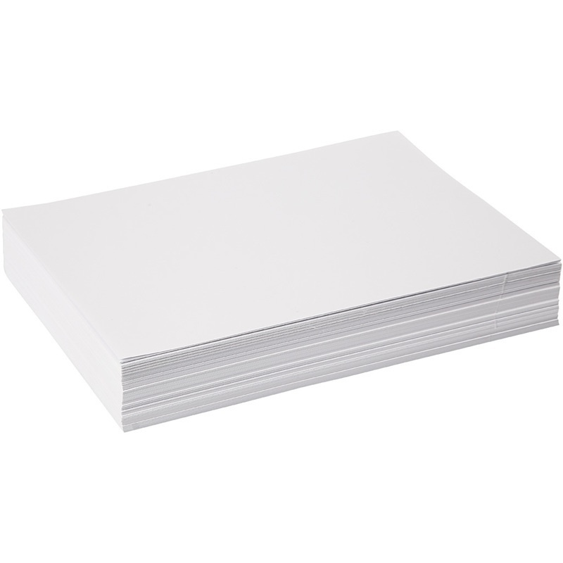 Creativ Company Drawing Paper, White, A4, 210x297 Mm, 80 G, 500 Sheet, 1 Pack