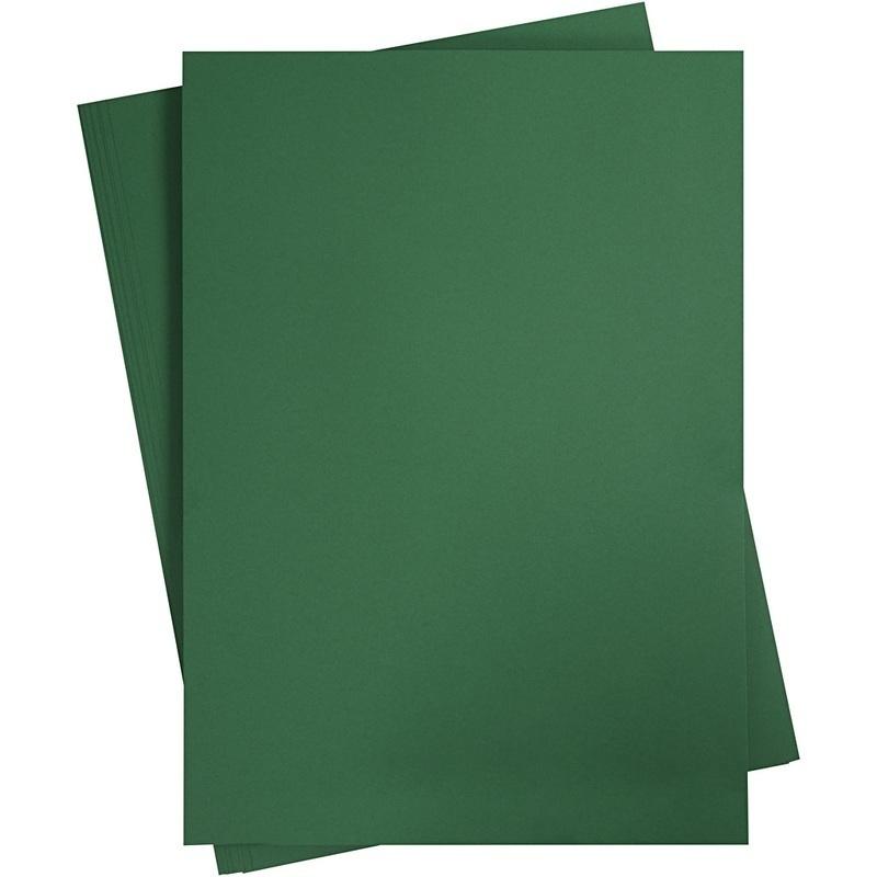 Creativ Company Card, Fir Green, A2, 420x600 Mm, 180 G, 10 Sheet, 1 Pack