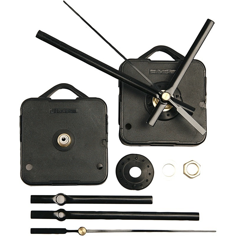 Creativ Company Clockwork Mechanics, Black, Plate Max Thickness 10 Mm, 1 Set