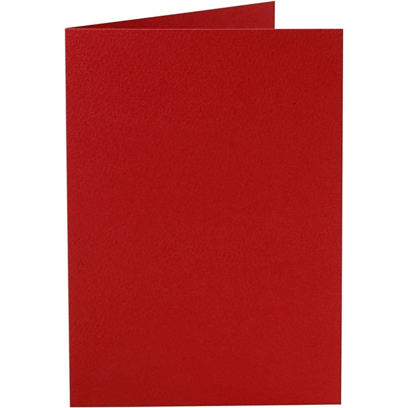 Happy Moments Cards, Red, 10,5x15 Cm, 220 G, 10 Pc, 1 Pack